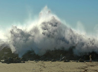 Incoming !!...Morro Bay, California