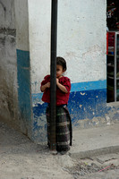 If This Pole Could Be a little Wider... Panajachel, Guatemala