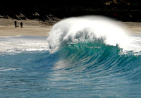 Breaking Wave, Carmel, Calif.