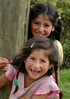 Young Girls At Play... Amazones, Peru