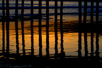 Avila Pier Reflections... Avila Beach, California